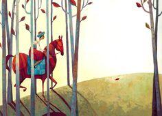 Illustrations Anja Klauss Portfolio : Contes