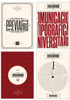 Breviario Magazine - Editorial Design on Behance