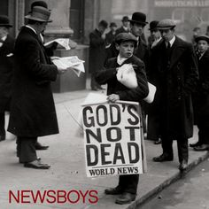 Newsboys - God's Not Dead - YouTube