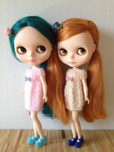 conjoined twin blythe dolls | Pin by Yellow Marzipan. on ઇઉI love Blythe ઇઉ ...
