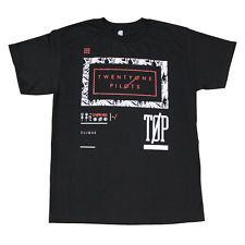 TWENTY ONE PILOTS TOP Men's T-Shirt Black