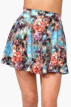 Flower Days Skirt - Green