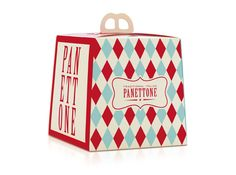 Panettone - jamie Oliver #package #design Pearlfisher