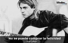Querer ser otra persona es un desperdicio de la persona que eres. Nirvana, Kurt Cobain Frases, We Remember, I Hope You, Movies, Movie Posters, Best Quotes, Get Well Soon, Best Songs
