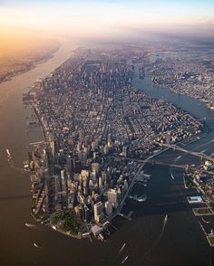 My dream Incredible shot of the whole city by Cheryl @cheryl.hills #picturesofnewyork