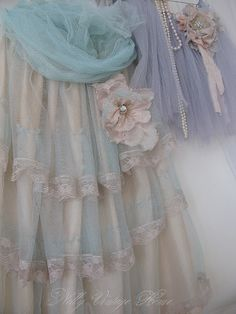 Pretty in vintage pastels