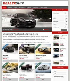 1000 images about 10 of the best joomla wordpress themes for car dealerships vehicle. Black Bedroom Furniture Sets. Home Design Ideas