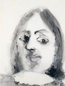 Man's Head - Pablo Picasso - The Athenaeum
