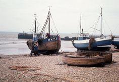 Haasting England fishing boats