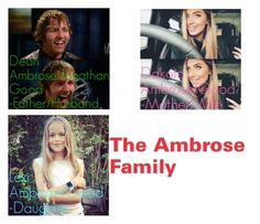 """""""RP Ambrose Family"""" by mrs-rowland15 ❤ liked on Polyvore featuring art"""