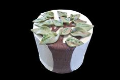 Family tree cake. Gâteau arbre généalogique.
