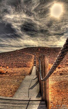Negev Carpenter's Path, Israel. https://www.flickr.com/photos/manunited/4151958913/in/album-72157622794082607/