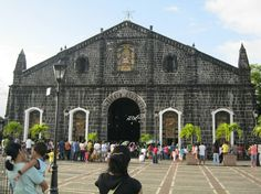 The old Tabaco Church in Tabaco City, Albay, Philippines.