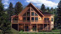 aspen log home plan | If you dream of building a Log Home, a Hybrid Home or a Modular Home ...