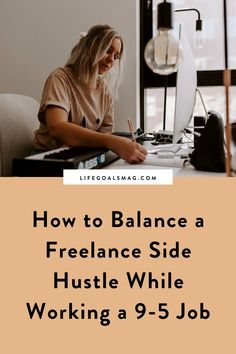 how to balance a side hustle | 9-5 to CEO | balancing your passion with a corporate career | side hustle tips | starting a business while working in a 9 to 5 Job Work, Getting Up Early, Go Getter, Cover Letter For Resume, Career Goals, Digital Nomad, Online Work, Going To The Gym, Starting A Business