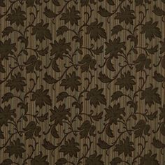 Brown, Light Brown And Teal Floral Stripe Upholstery Jacquard Fabric By The Yard Pillow Fabric, Curtain Fabric, Pillows, Brown Teal, Jacquard Fabric, Striped Fabrics, Floral Stripe, Designer Pillow, Amazon Art