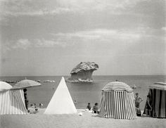 photography by Herbert List, in Liguria, Italy. - photography by Herbert List, in Liguria,. History Of Photography, Modern Photography, Street Photography, Herbert List, Great Photographers, Rock Formations, Magnum Photos, Beautiful Islands, The Rock