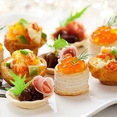 Une sélection de recettes faciles pour réussir vos soirées d'apéros dinatoires, vos buffets chics entre amis, anniversaires, baptêmes etc ..