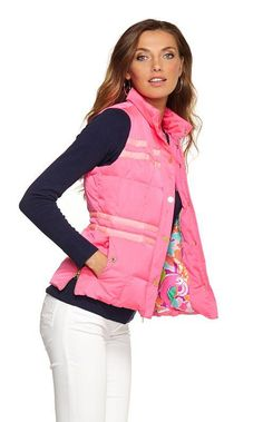 Lilly Pulitzer Resort' 13- Kate Puffer Vest