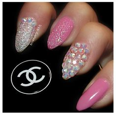 Coco Chanel Pointy Nails