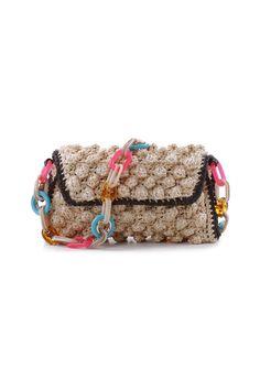 #MMissoni | #Raffia effect Beige Bag | Summer 2014 Collection