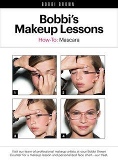 Bobbi Brown Makeup Lessons: Mascara Beauty Myth, Beauty Magic, Beauty Tricks, Beauty Ideas, Makeup Ideas, Makeup Tips, Beauty Makeup, Bobbi Brown, Makeup Lessons