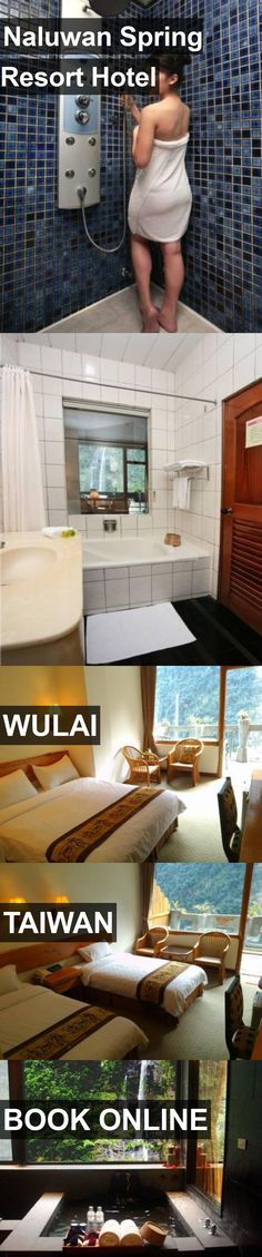 Naluwan Spring Resort Hotel in Wulai, Taiwan. For more information, photos, reviews and best prices please follow the link. #Taiwan #Wulai #travel #vacation #hotel