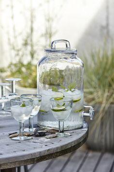 Watertap glas 8,5 liter van House Doctor.