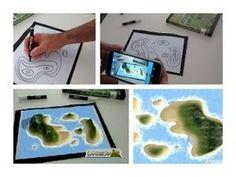 LandscapAR Realidad Aumentada en los mapas. Creación de mapas topográficos en 3D de una forma realmente sencilla y útil.
