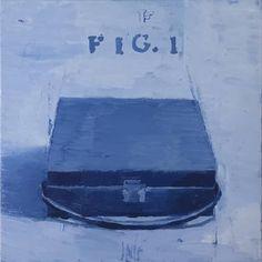 "Saatchi Art Artist DAVIS LISBOA; Painting, """"Boîte-en-valise 9"""" #art Marcel Duchamp, Figure Painting, Oil Painting On Canvas, Original Paintings, Original Art, Barcelona, Artwork Online, Museum Of Contemporary Art, Art Museum"