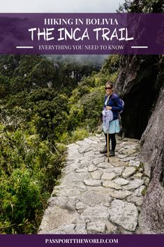 Ever thought about hiking in Bolivia? In this article I'm telling you everything you need to know about the Inca trail in Bolivia, a beautiful day-hike. Inca Road System, Bolivia Travel, Lake Titicaca, Travel Route, Easy Day, South America Travel, Day Hike, Machu Picchu, Culture Travel