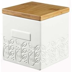 Box Leaf With Bamboo Lid now featured on Fab.