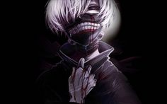 Tokyo Ghoul Anime Mask White Hair Background Wallpaper 1920×1200
