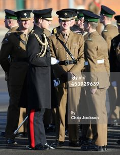 News Photo: Prince William Duke of Cambridge presents service medals… to the irish guards on their return from helmand