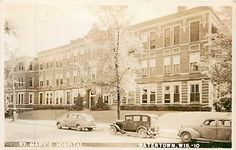 Wisconsin, WI, Watertown, St Mary's Hospital Real Photo Postcard
