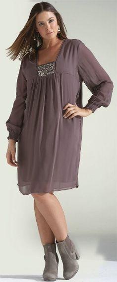 FOLKLORE TUNIC## - Dresses - My Size, Plus Sized Women's Fashion & Clothing