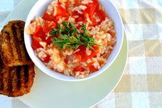 Griekse tomatenrijst - Lekker en Simpel