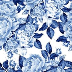 Mural fondo extraíble y palo papel pintado adhesivo auto | Etsy Blue Floral Wallpaper, More Wallpaper, Colorful Wallpaper, Wallpaper Roll, Flower Wallpaper, Peel And Stick Wallpaper, Wallpaper Murals, Chinoiserie, Blue Peonies