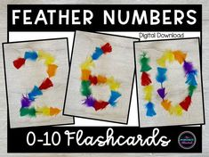Activity Games, Math Activities, Toddler Activities, Autumn Eyfs, Number Flashcards, Teaching Math, Maths, Ordering Numbers, Starting School