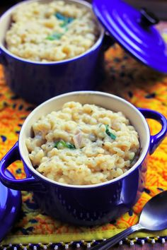 To the T: Lemon-Herb Pearled Barley Risotto
