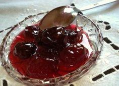 Γλυκό κεράσι Greek Recipes, Cherry, Pudding, Fruit, Desserts, Food, Greece, Thermomix, Tailgate Desserts