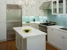 Image result for island for narrow kitchen