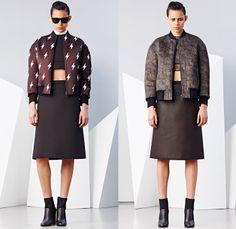 Neil Barrett 2014-2015 Fall Autumn Winter Womens Lookbook Presentation - Paris Fashion Week Prêt à Porter Défilés - Flash Lightning Bolt Out...