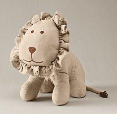 Chambray Lion   Toys   Restoration Hardware Baby & Child