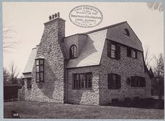 Residence, Germantown - W Eyre - A. D. White Architectural Photographs, Cornell University Library
