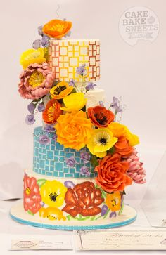 Australian Cake Decorating Championships | Cake Bake & Sweets Show. Open Wedding Cake Winner