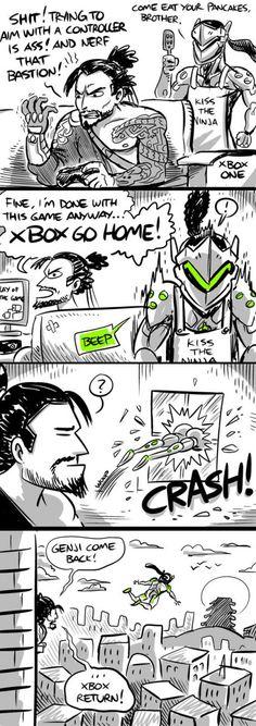 Apparently Genji = xbox