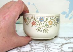 A personal favourite from my Etsy shop https://www.etsy.com/uk/listing/476208558/open-sugar-bowl-bhs-country-garland