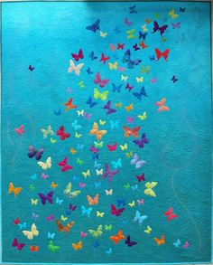 Possibly the prettiest quilt ever Sampaguita Quilts: The Butterfly Quilt