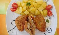 Hlíva v trojobalu French Toast, Pineapple, Meat, Chicken, Fruit, Breakfast, Morning Coffee, Pine Apple, Cubs